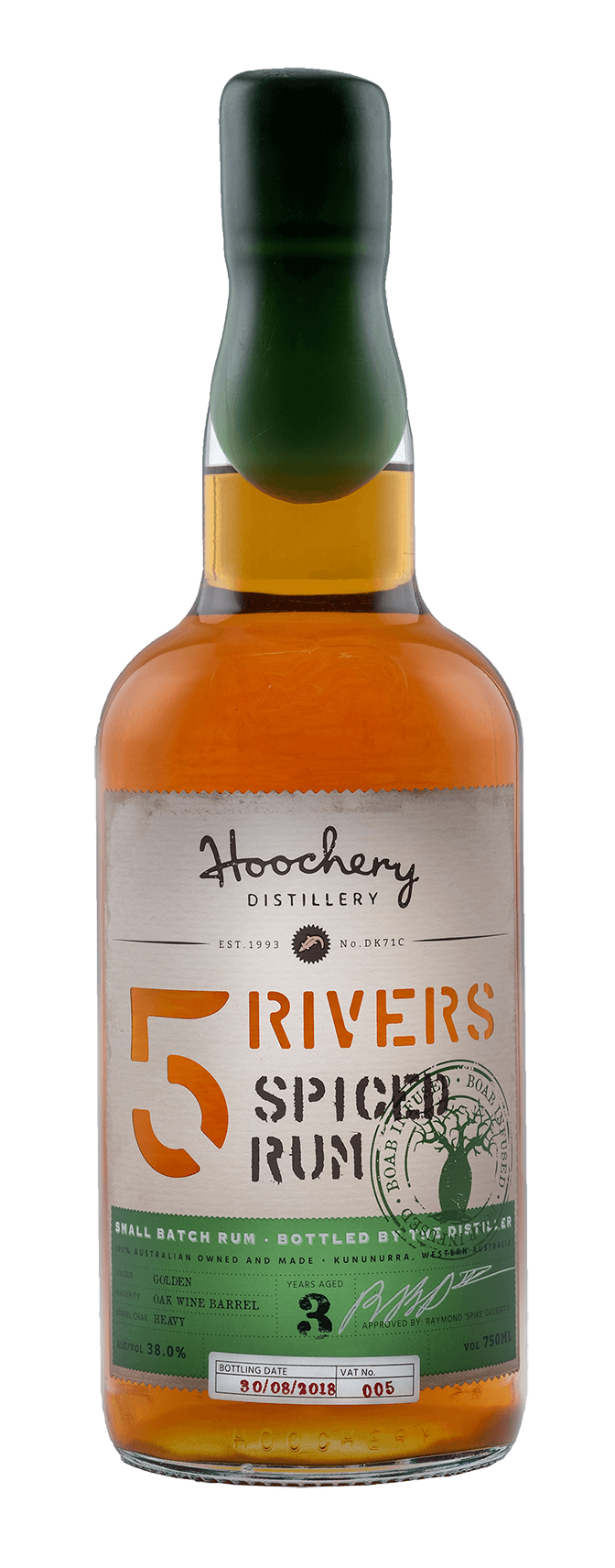 5 Rivers Tropical Spiced Rum