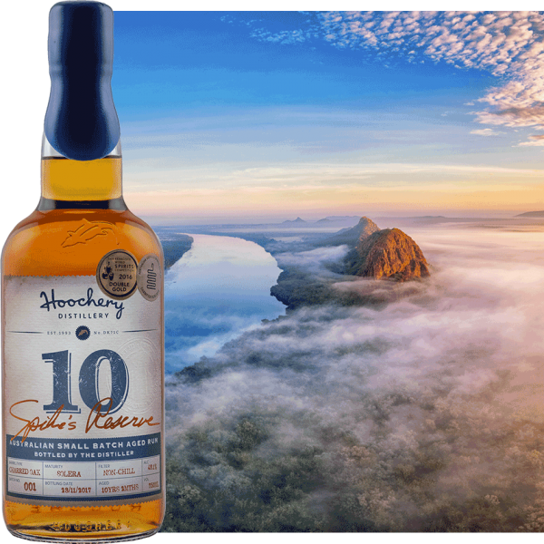 rum bottle with kimberly background