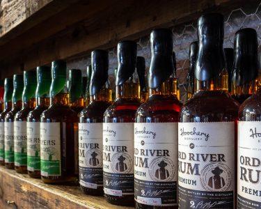 photo of rum on shelf