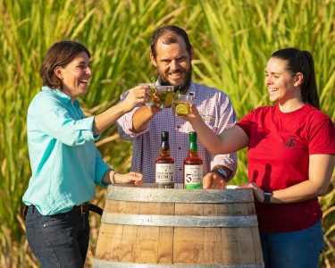 what is australian rum? these people are drinking it