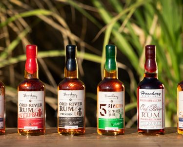 photo of 6 bottles of rum