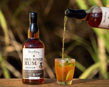australian rum brands poured hoochery-distillery